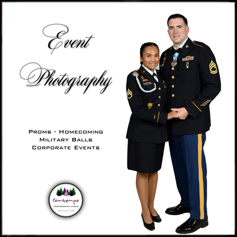 Picture of military ball portrait