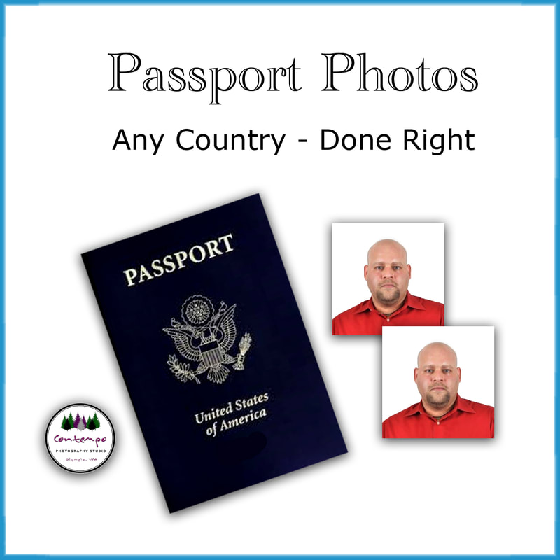 Picture of passport photos